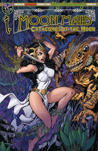 Moon Maid #1 (Calzada Fury Cover)