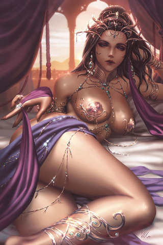 Dejah Thoris #3 (Kunkka Virgin Cover)
