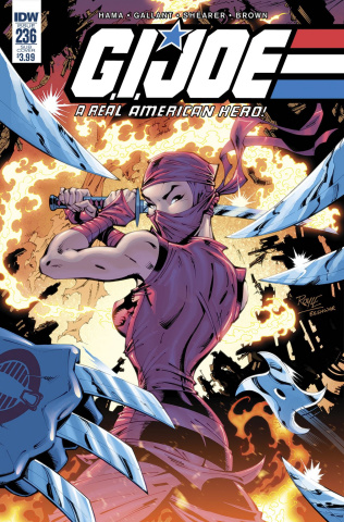 G.I. Joe: A Real American Hero #236 (Subscription Cover)