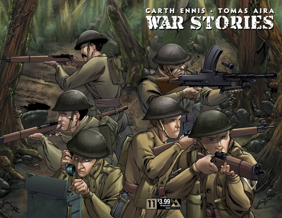 War Stories #11 (Wrap Cover)