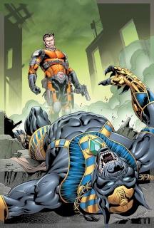 E.V.I.L. Heroes #4 (Atkins Cover)