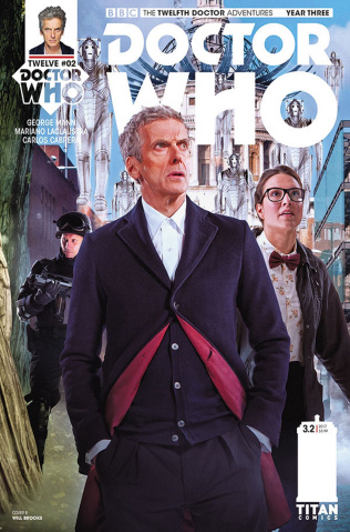 Doctor Who: New Adventures with the Twelfth Doctor, Year Three #2 (Photo Cover)