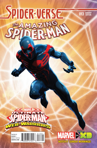 The Amazing Spider-Man #13 (Wamester Animation Cover)