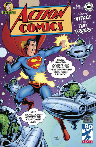 Action Comics #1000 (1950s Cover)