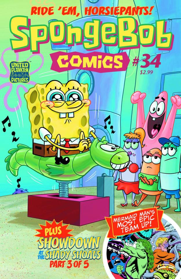 Spongebob Comics #34