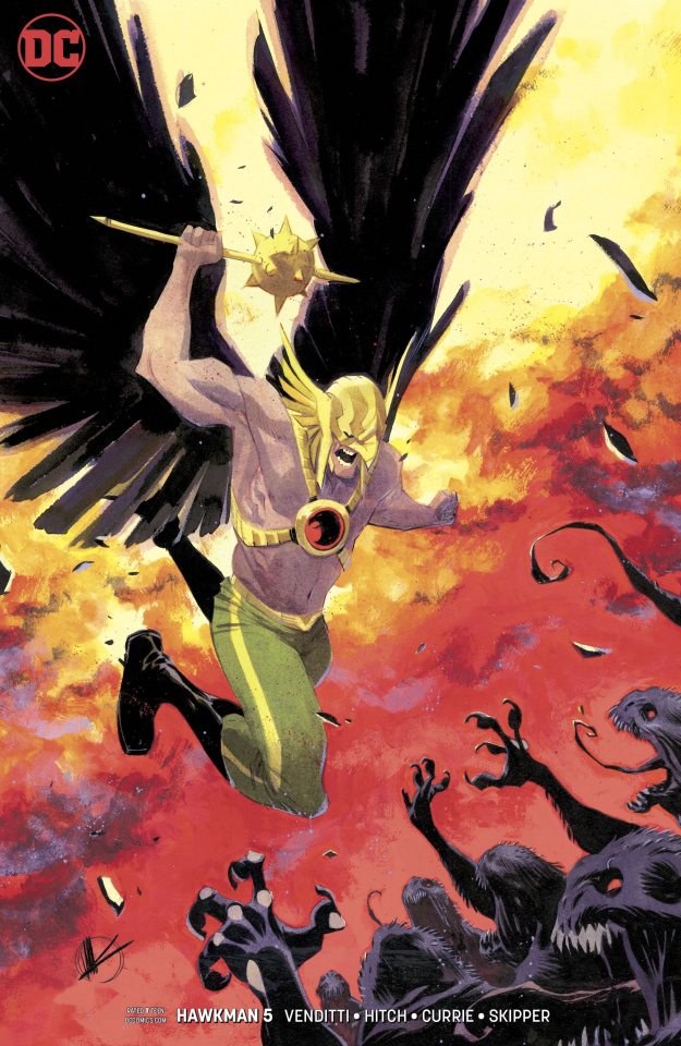 Hawkman #5 (Variant Cover)