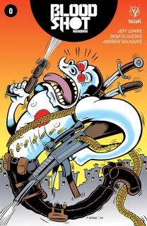 Bloodshot: Reborn #0 (10 Copy Bagge Cover)
