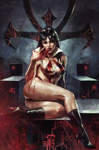 Vampirella #20 (Mastrazzo Virgin Cover)