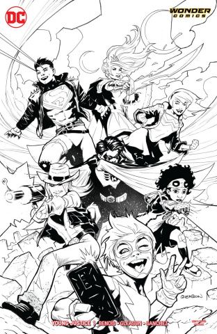 Young Justice #1 (Variant Cover)