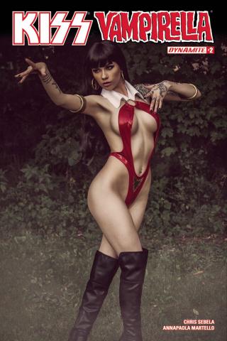 KISS / Vampirella #2 (Cosplay Cover)