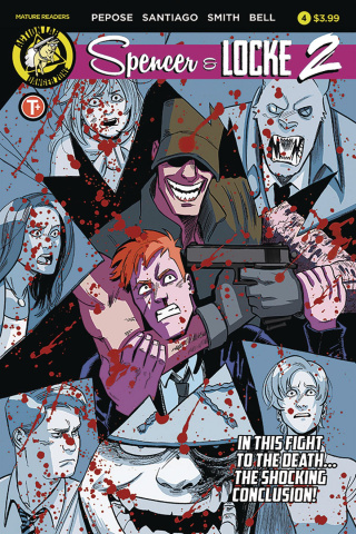 Spencer & Locke 2 #4 (Santiago Cover)
