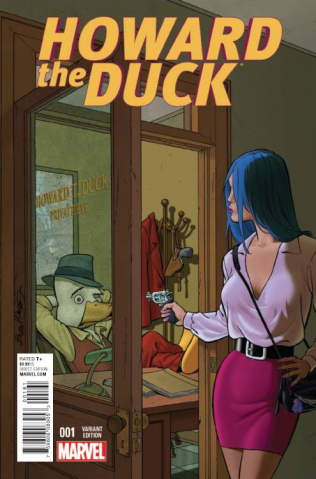 Howard the Duck #1 (McLeod Cover)