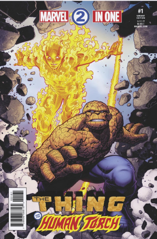 Marvel Two-In-One #1 (Arthur Adams Cover)