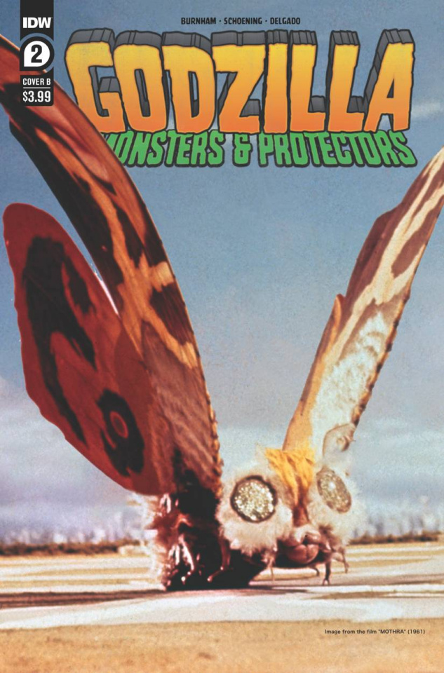 Godzilla: Monsters & Protectors #2 (Photo Cover)