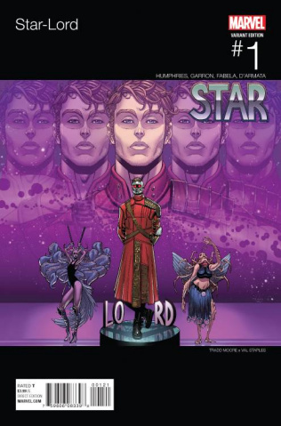 Star-Lord #1 (Moore Hip Hop Cover)