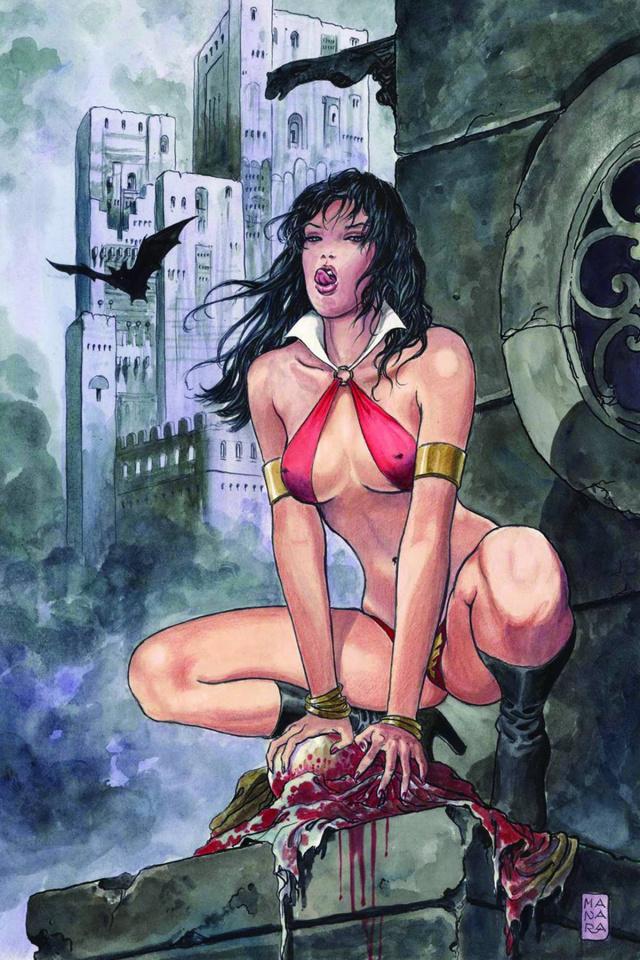 Vampirella Strikes #1 (Virgin Art Cover)