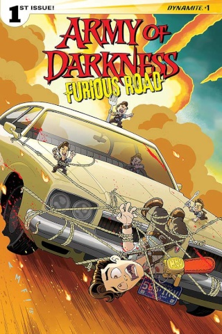Army of Darkness: Furious Road #1 (Fleecs Cover)