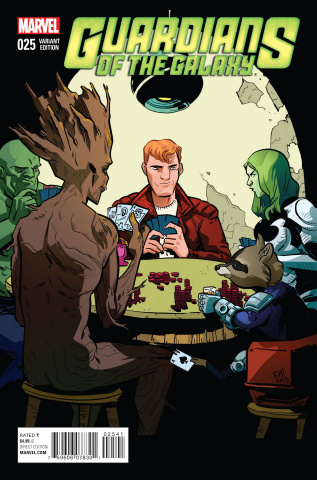 Guardians of the Galaxy #25 (Women of Marvel Cover)