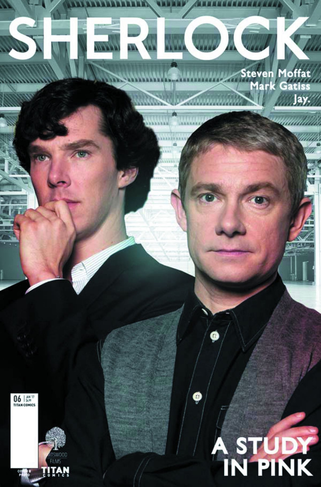 Sherlock: A Study in Pink #6 (Photo Cover)