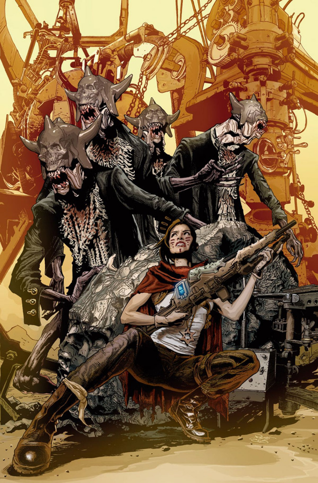 War Mother #2 (Guedes Cover)