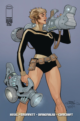 Section Zero #4 (Dodson Cover)