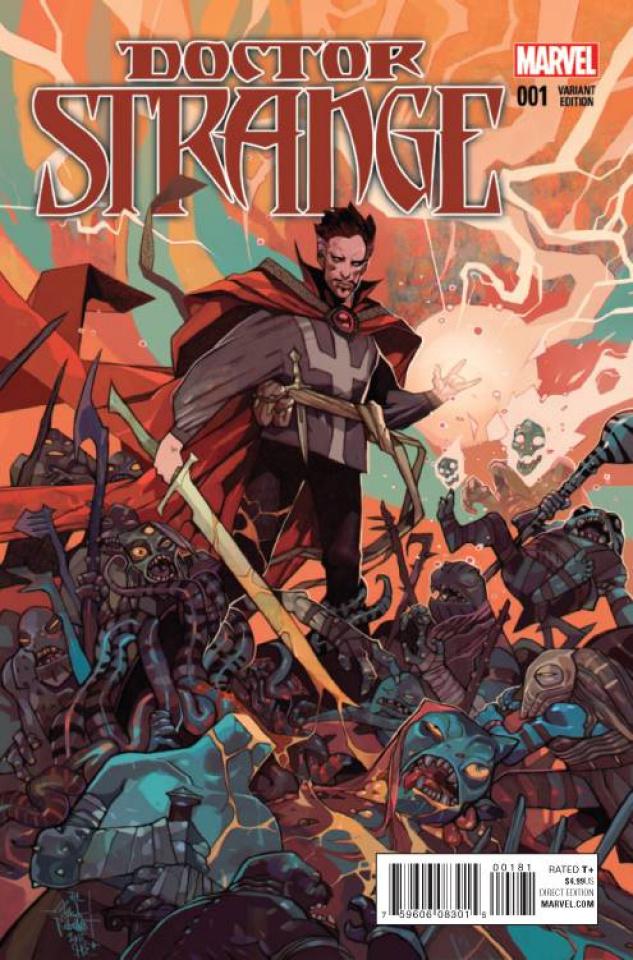 Doctor Strange #1 (Rebelka Cover)