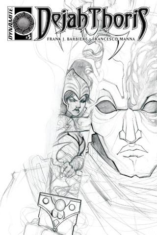 Dejah Thoris #5 (10 Copy Nen B&W Cover)