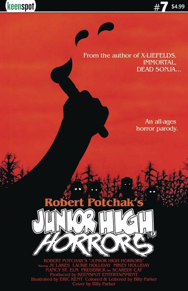 Junior High Horrors #7 (Children of the Corn Parody)