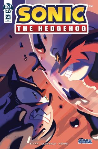 Sonic the Hedgehog #23 (10 Copy Fourdraine Cover)