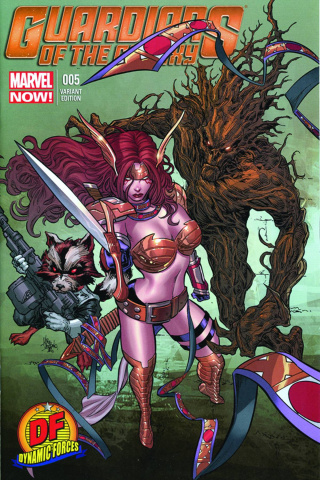 Guardians of the Galaxy #5 (Lee Signed Edition)