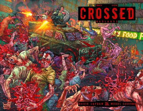 Crossed: Badlands #24 (Wrap Cover)