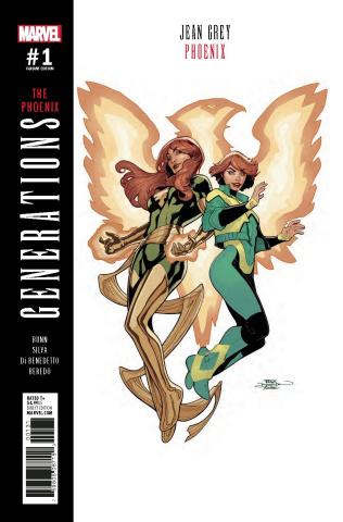 Generations: Phoenix & Jean Grey #1 (Dodson Cover)