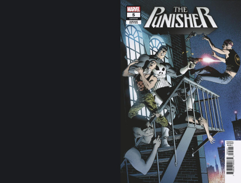 The Punisher #5 (Zeck Hidden Gem Cover)