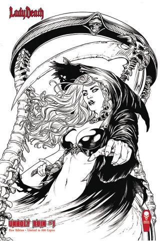 Lady Death: Unholy Ruin #1 (Raw Edition)