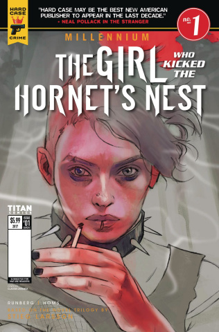 The Girl Who Kicked the Hornet's Nest #1 (Caranfa Cover)