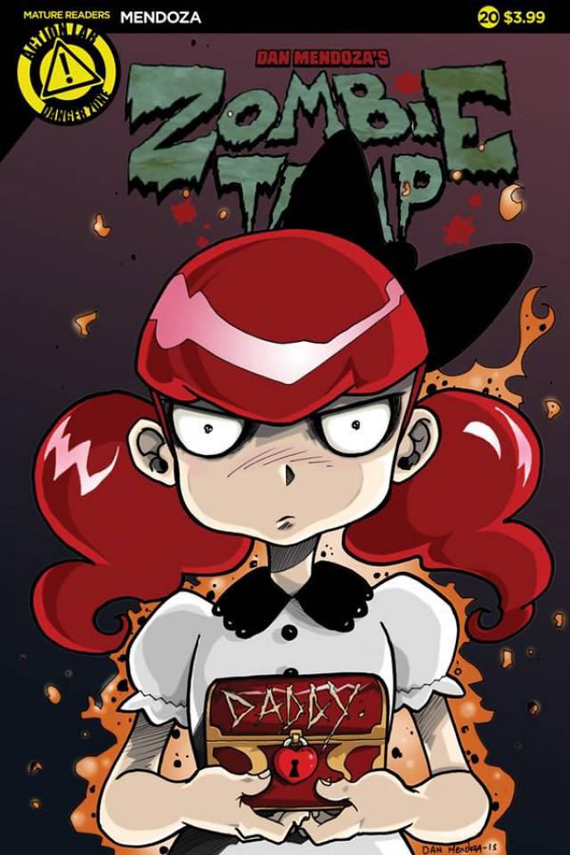 Zombie Tramp #20 (Mendoza Cover)