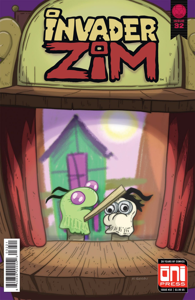 Invader Zim #32 (Green Cover)