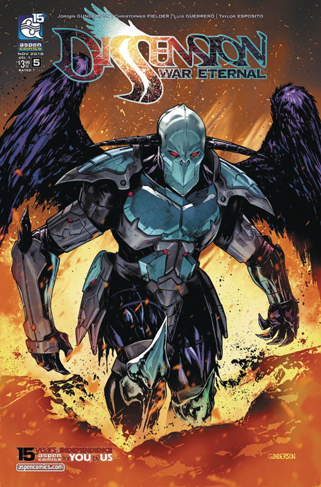 Dissension: War Eternal #5 (Gunderson Cover)