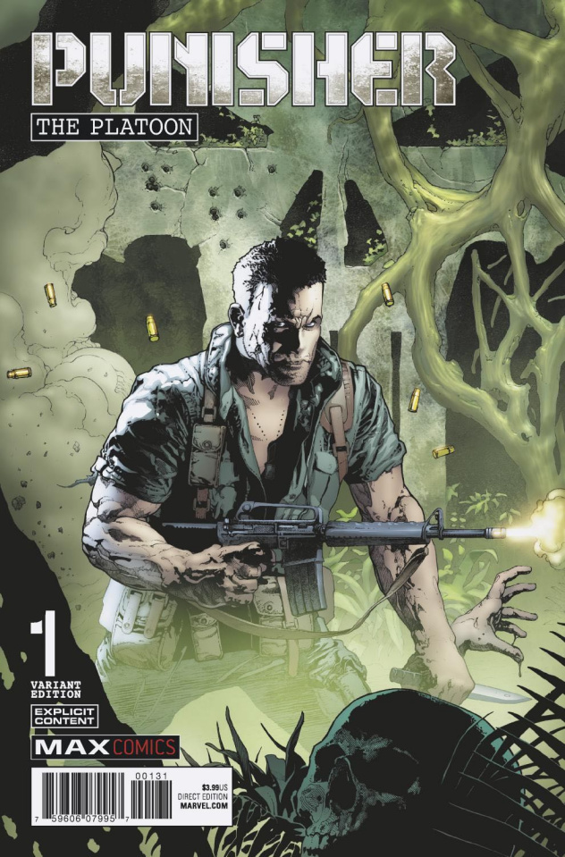Punisher: The Platoon #1 (Brase Cover)