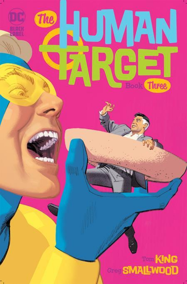 The Human Target #3 (Greg Smallwood Cover)