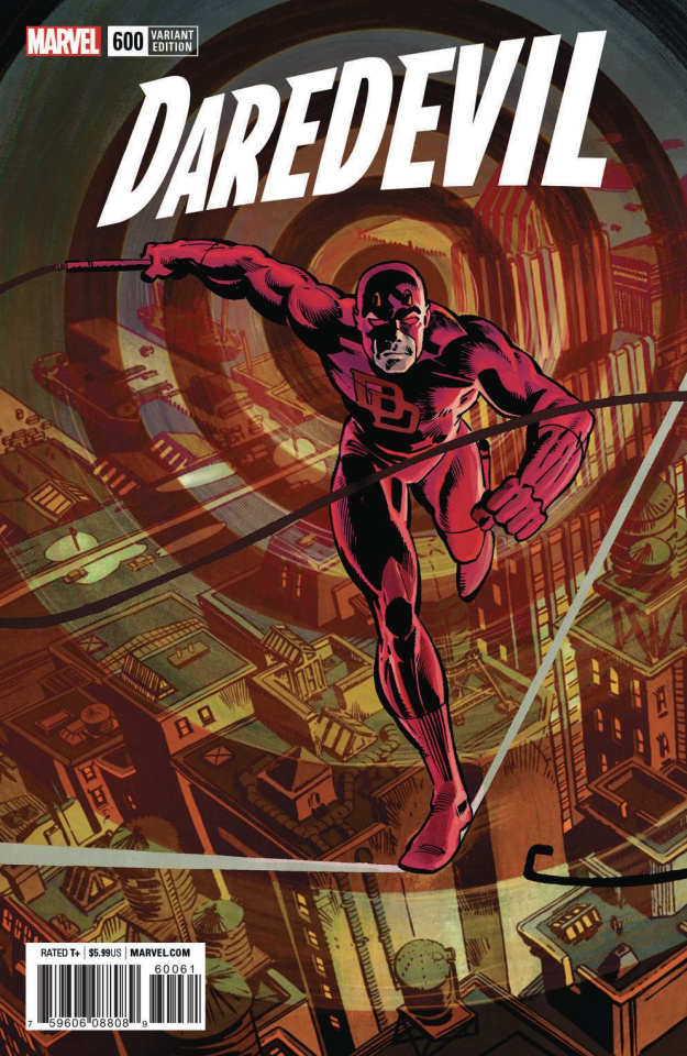 Daredevil #600 (Frank Miller Remastered Cover)