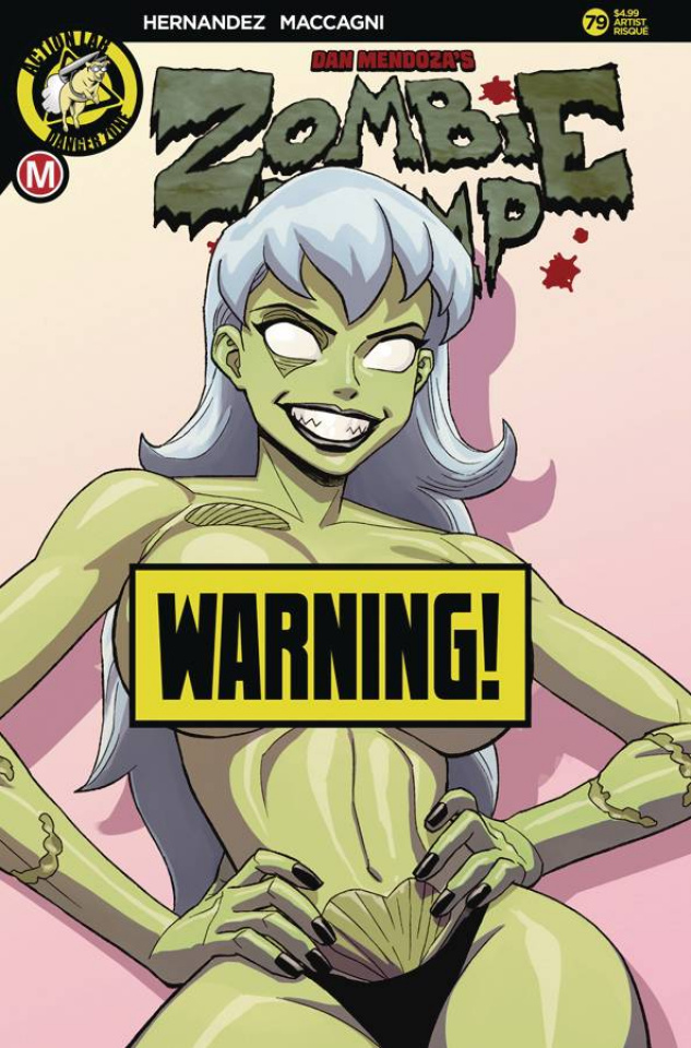 Zombie Tramp #79 (Young Risque Cover)
