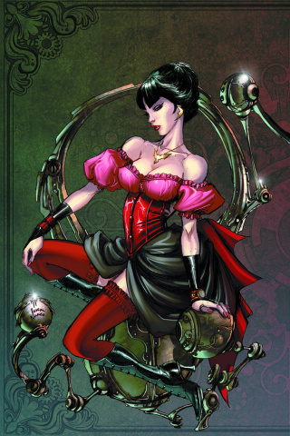 Legenderry: Vampirella #1 (Benitez Virgin Cover)