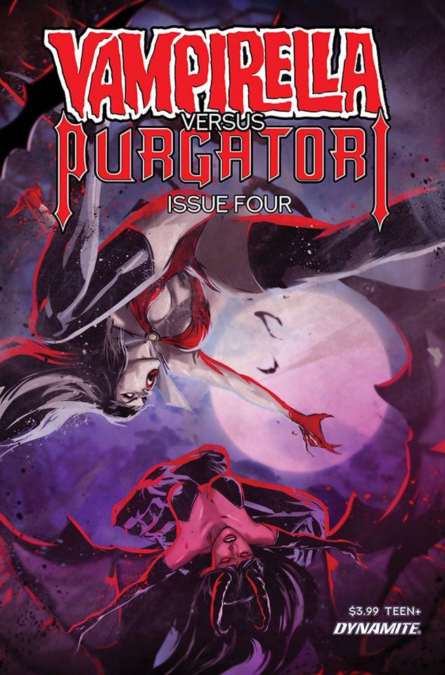 Vampirella vs. Purgatori #4 (Kudranski Cover)