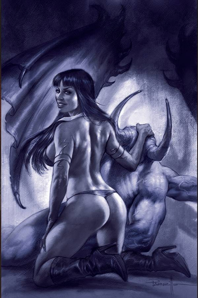 Vengeance of Vampirella #11 (35 Copy Parrillo Tint Virgin Cover)