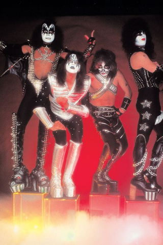 KISS: Zombies #1 (10 Copy Photo Virgin Cover)
