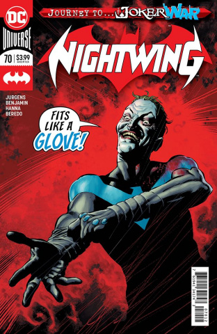 Nightwing #70 (2nd Printing)