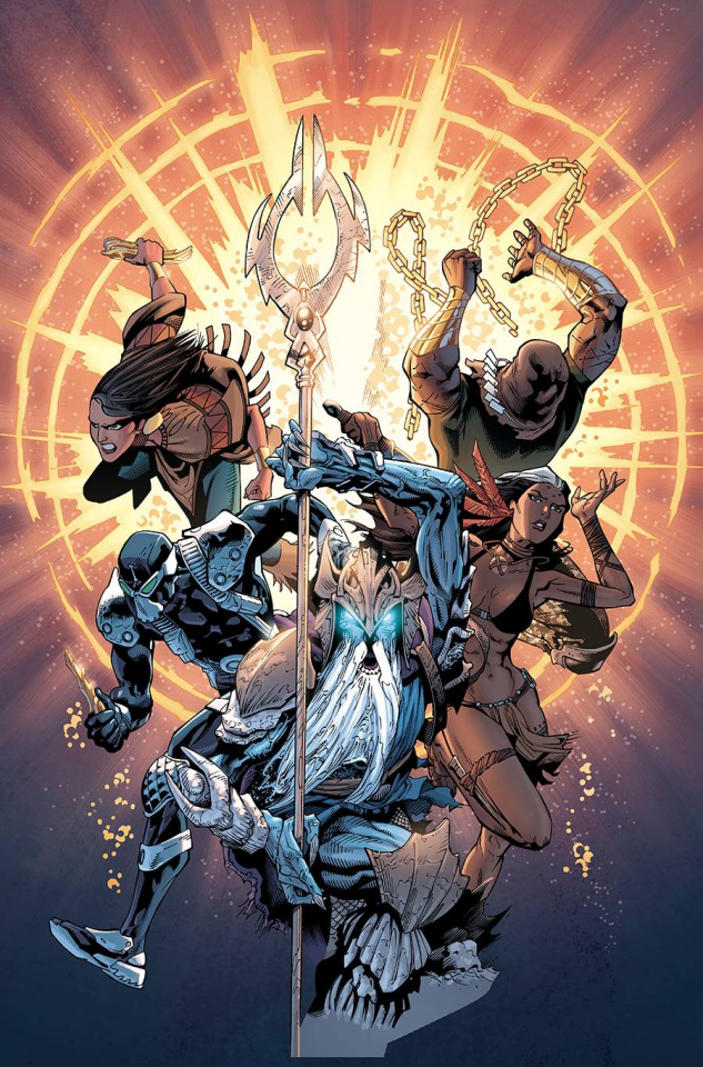 Aquaman and the Others: Future's End #1