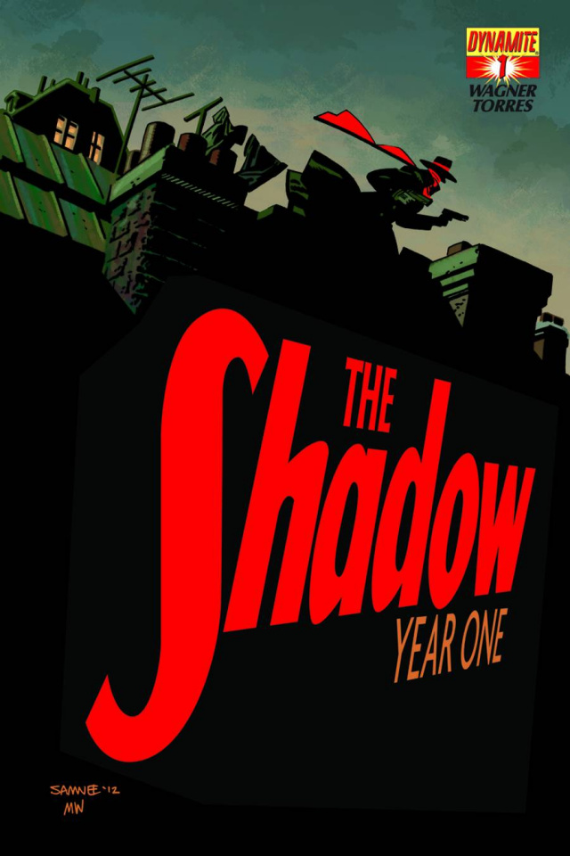 The Shadow: Year One #1 (Samnee Cover)
