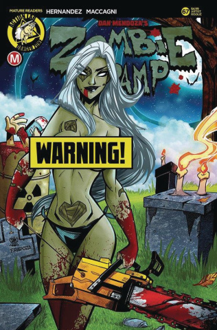 Zombie Tramp #67 (Trom Risque Cover)